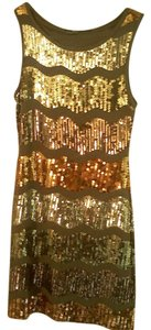 Forever 21 short dress Copper Sequin on Tradesy