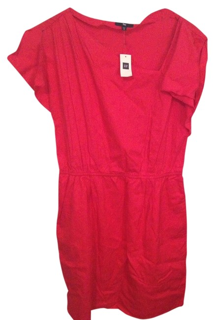 Gap short dress Tomato Red on Tradesy
