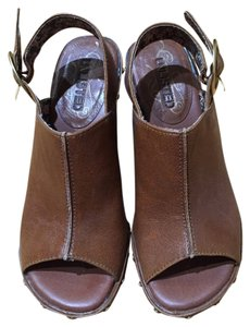 Unlisted by Kenneth Cole Brown Wedges