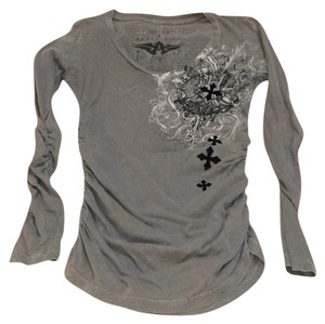 Affliction T Shirt Grey