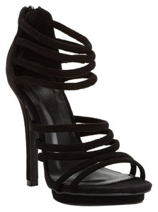 Wild Diva Strappy Sandal Black Sandals