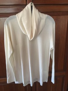 Vince Cowl Neck Loose Turtleneck Sweater