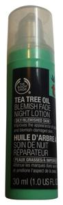 The Body Shop The body shop tea tree oil blemish fade night lotion 30ml