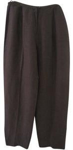 Eileen Fisher Trouser Pants Brown