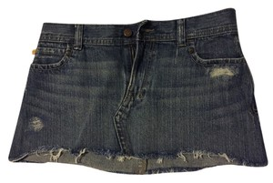 Hollister Jean Mini Skirt Denim