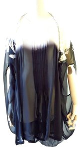 Ann Demeulemeester Top black white