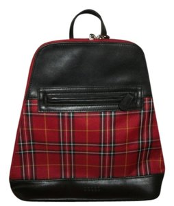 Liz Claiborne Crazy Horse Collection Style / Crazy Horse Signature Cotton Liner Exterior Polyester / Liner Cotton / Trim Pvc Backpack
