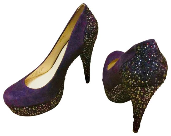 Item - Purple with Sequence Fsd 0612 Platforms Size US 6.5 Narrow (Aa, N)