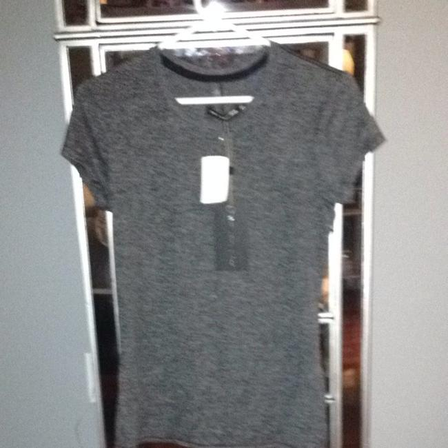 Rag & Bone T Shirt CHAR GREY Image 2