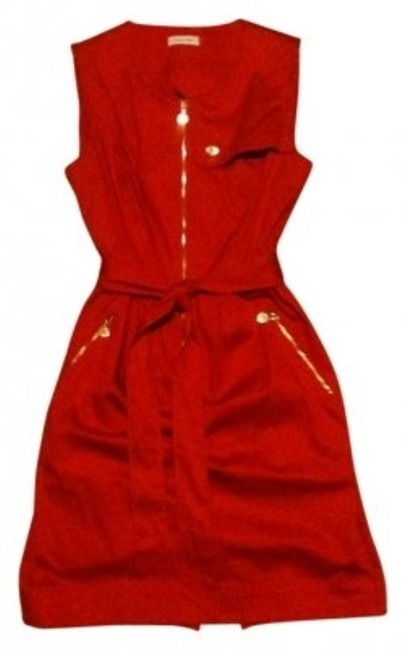 Calvin Klein short dress Red on Tradesy