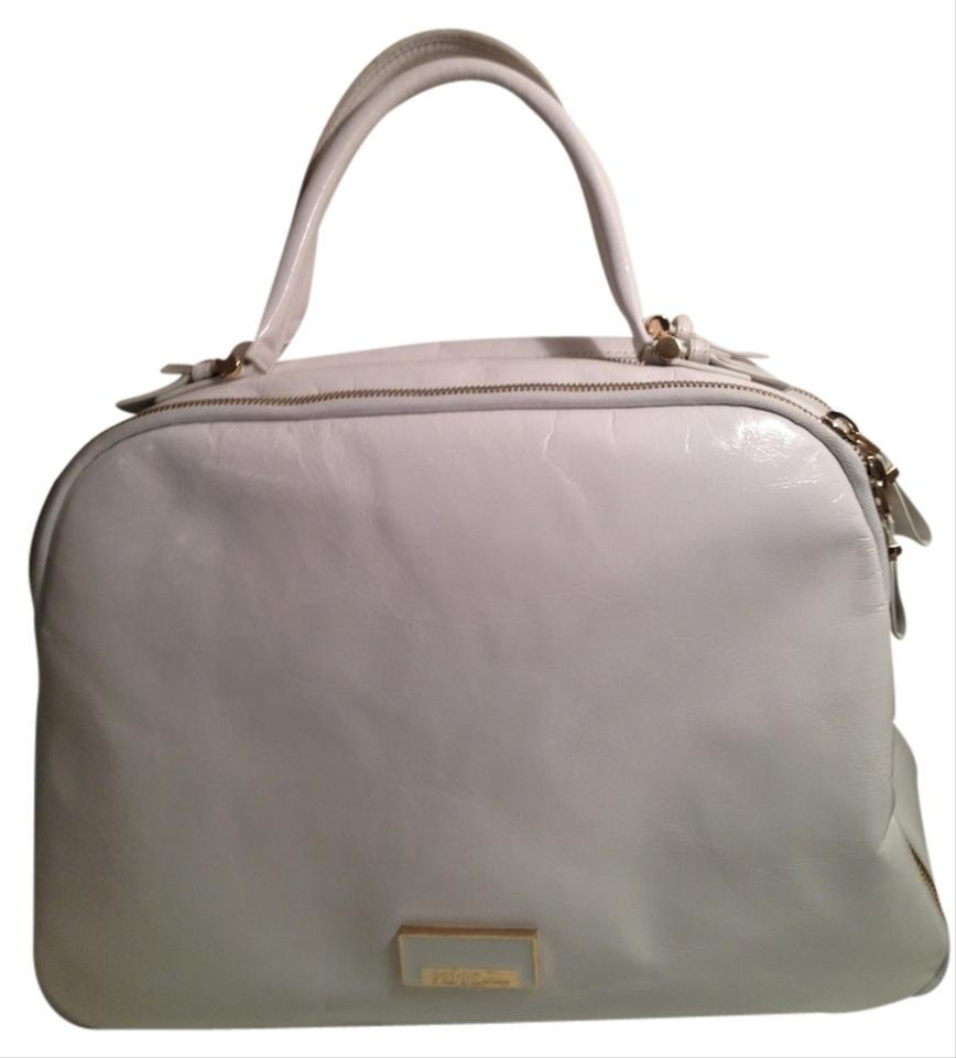 Gianfranco Ferre Travel Boston Bowling Speedy Keepall White Travel ...