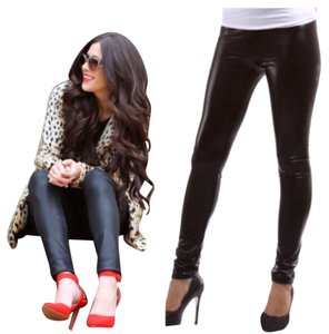 The Envy Collection Black Leggings