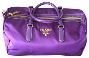 Prada Nylon Tote in Violet / Purple