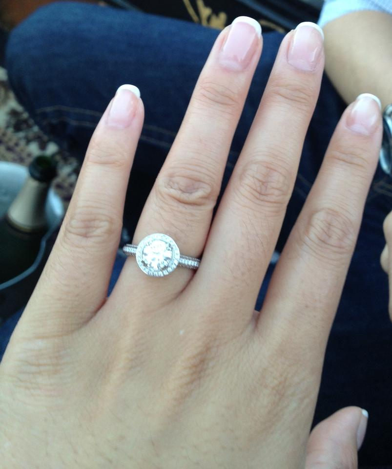 about diamonds tips and advice best size diamond for engagement ring .