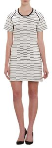 Thakoon short dress Black/White Knit Sheath Body Con Bodycon Body Conscious Striped on Tradesy