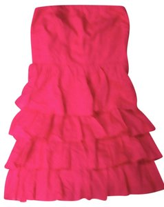 Express Tiered 4 Tiers Summer Fun Strapless Dress