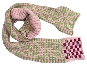 Dries van Noten hand knit wool scarf