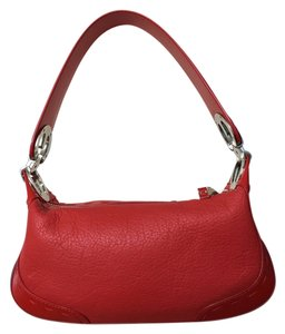 Escada Leather Logo Hobo Bag