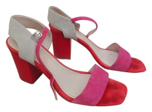 Calvin Klein red,pink, beige Sandals