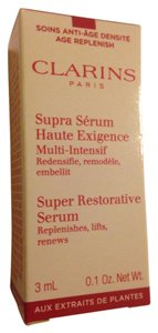 Clarins super restorative serum travel size NIB