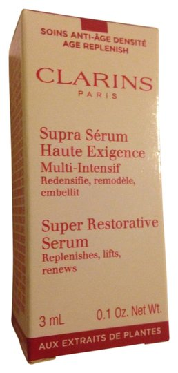 Other Clarins super restorative serum travel size NIB