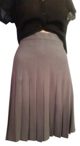 Escada Skirt Light Gray
