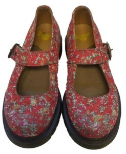 Dr. Martens Red Flats