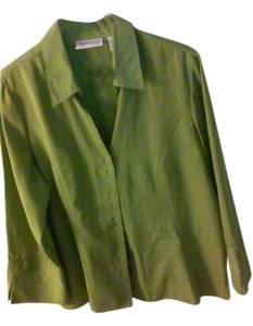 app`arenza Button Down Shirt Green (olive)
