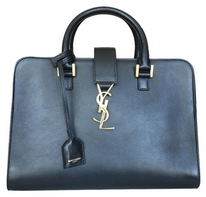 Saint Laurent Satchel in Navy Blue