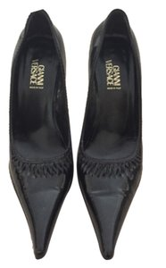 Versace Blac Pumps