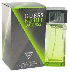 Guess Guess Night Access Mens Cologne 3.4 oz 100 ml Eau De Toilette Spray