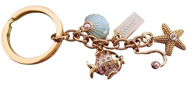 Coach Multicolor Under The Sea Mix Keychain Coach Multicolor Under The Sea Mix Keychain Image 1
