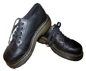 Dr. Martens Black Platforms