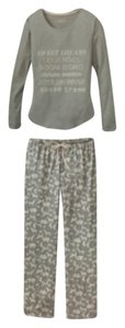 Gilligan & O'Malley Knit Pajamas Pjs Set 2-piece T Shirt