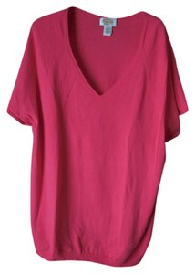 Talbots Plus-size Short Sleeve Sweater