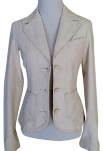 H&M Ivory/winter white Blazer