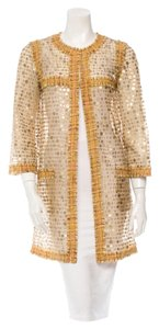 Chanel Sequins Pea Coat