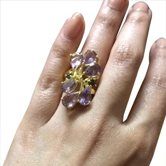 Zales Amethyst And Sapphire Ring