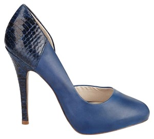 Juicy Couture Platform Stiletto Electric blue Pumps