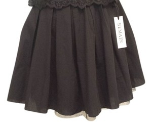 Nordstrom Day Short Dancers Mini Skirt Black Rehearsal Tu-Tu