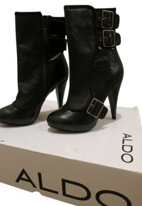 ALDO Ankle Leather black Boots