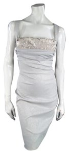 Vivienne Westwood Brocade Pencil Draped Sequin New With Tags Dress