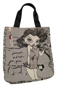 Harajuku Lovers Tote in Grey/ White/ Black