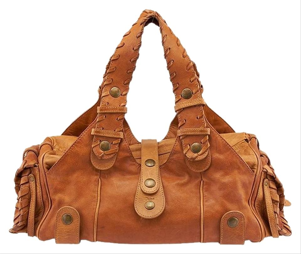 76e183a6dab1 Chloé Silverado (64429) Tan Leather Satchel - Tradesy