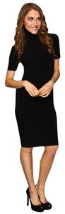 Express short dress Black Brand Nwt Sweater Office on Tradesy