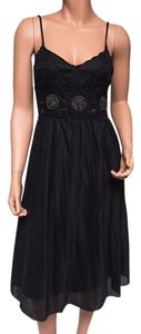 Black Maxi Dress by Max Studio Beaded Lined