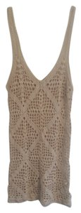Forever 21 short dress Beige Crochet on Tradesy