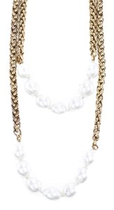 Chanel Chanel Vintage Gold and Pearl Necklace
