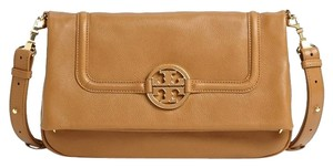 Tory Burch LIGHT BROWN Messenger Bag