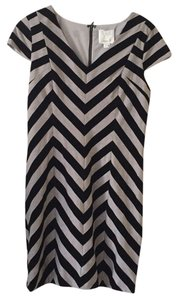 Aryn K short dress Black and Gray on Tradesy